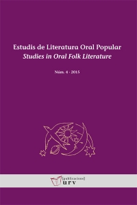 La revista Estudis de Literatura Oral Popular s'incorpora a l'índex ERIH Plus