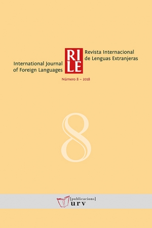 Revista Internacional de Lenguas Extranjeras, 8